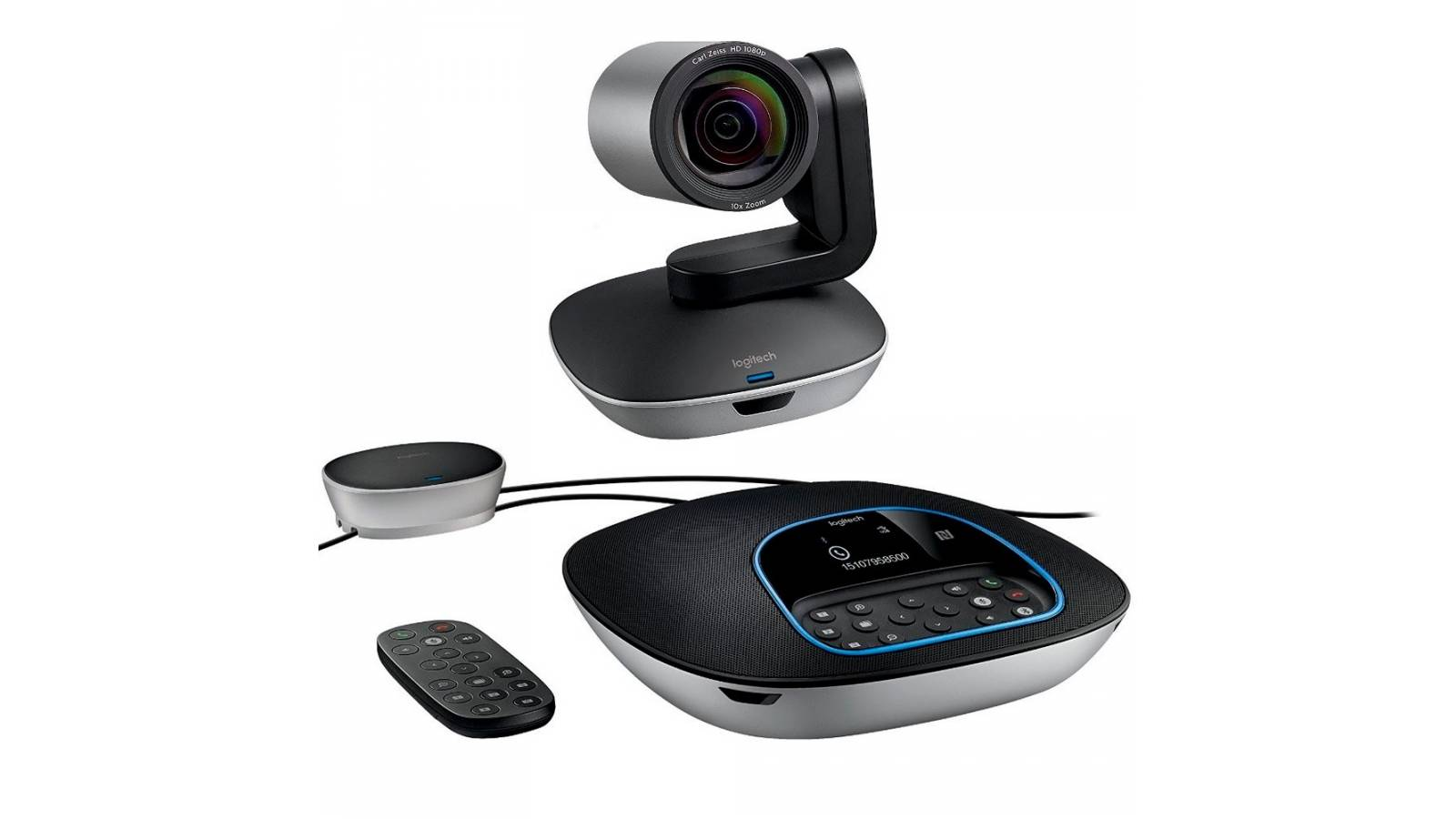 Logitech web cam Group para video conferencias