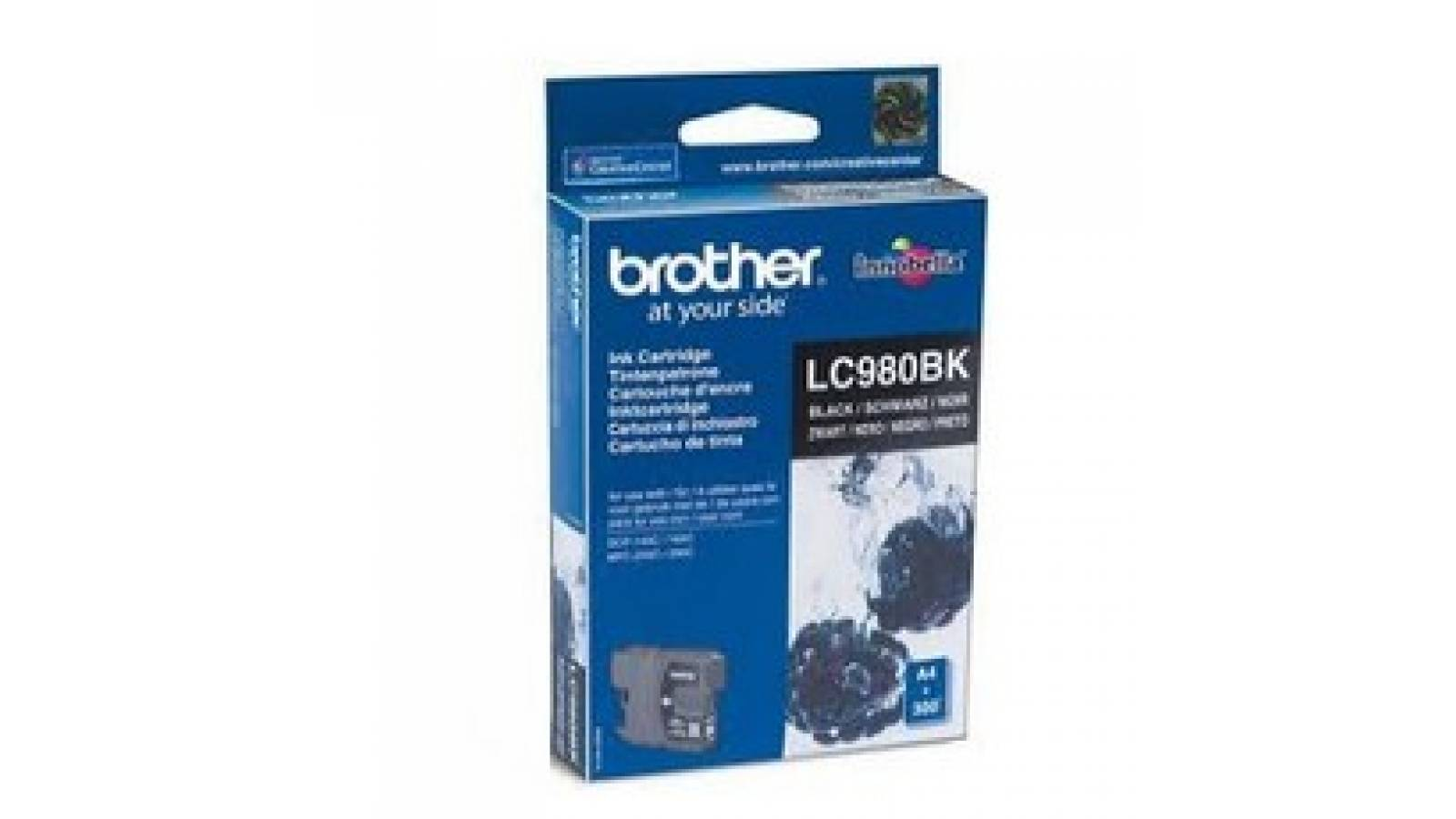 Cartucho de tinta Brother LC-980BK