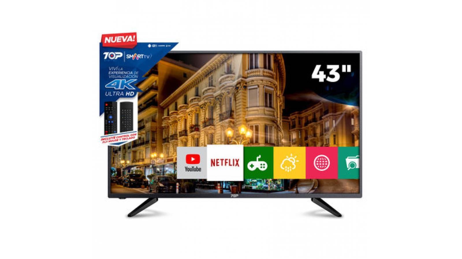Smart Tv Led 43 Ultra Hd 4k Top Digital 43C1U