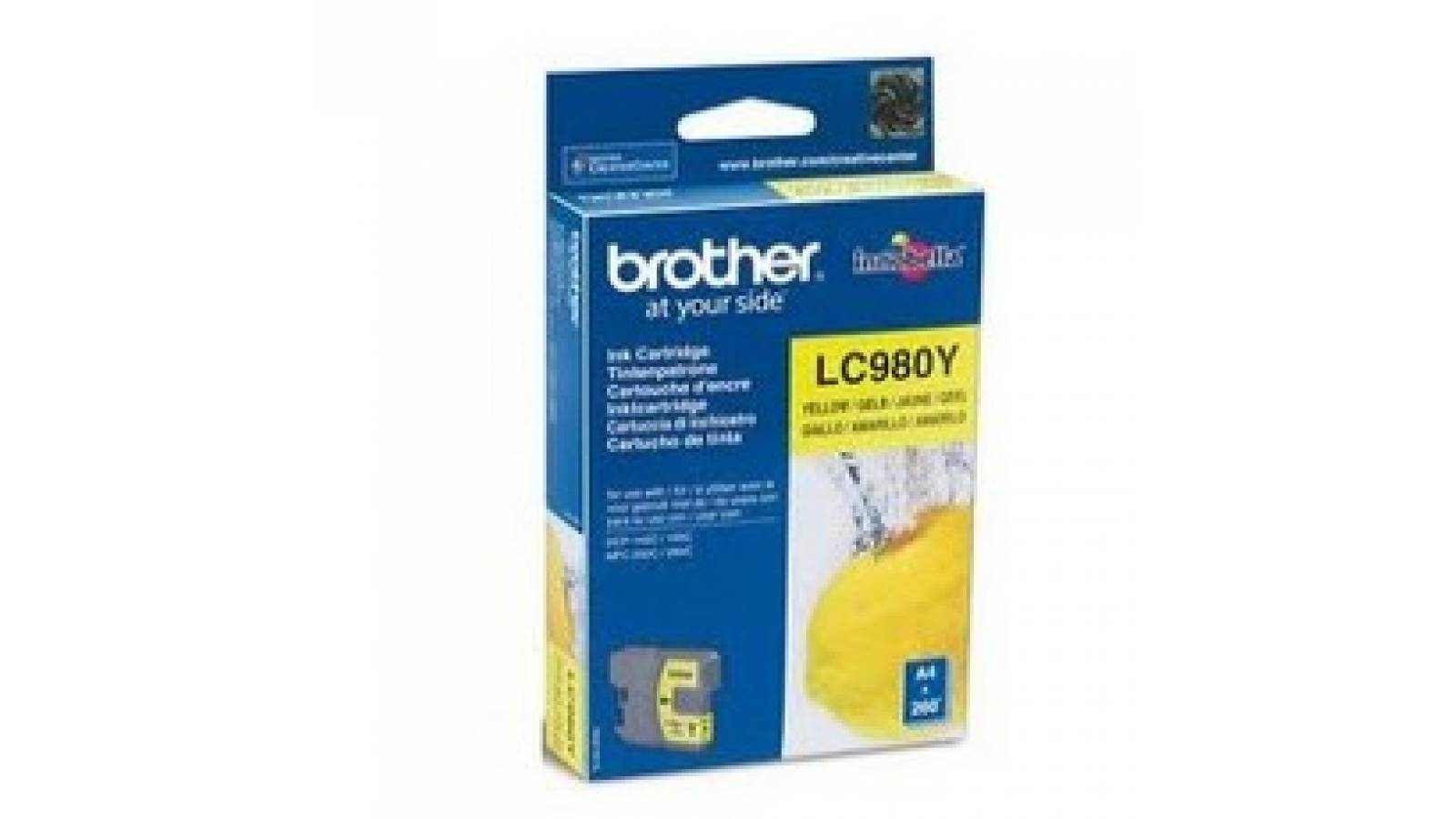 Cartucho de tinta Brother LC-980Y