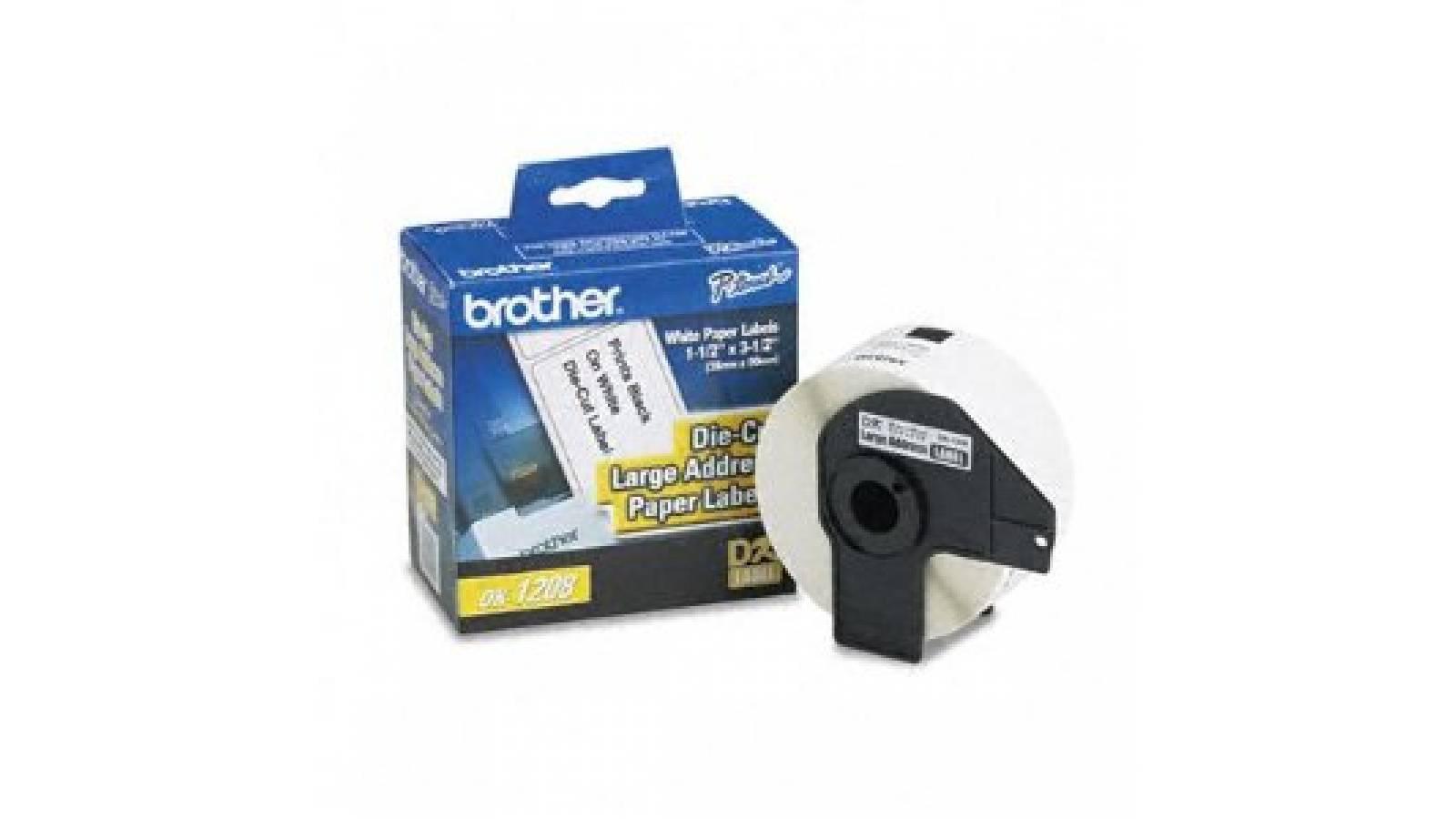 Etiquetas Brother DK-1208