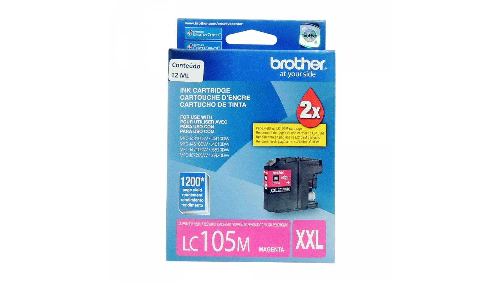 Cartucho de tinta Brother LC-105M