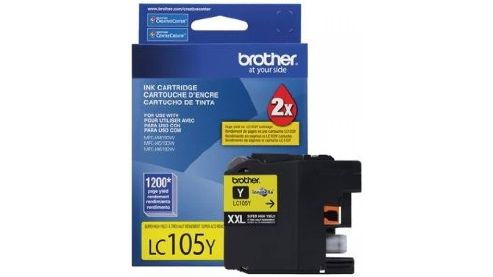 Cartucho de tinta Brother LC-105Y