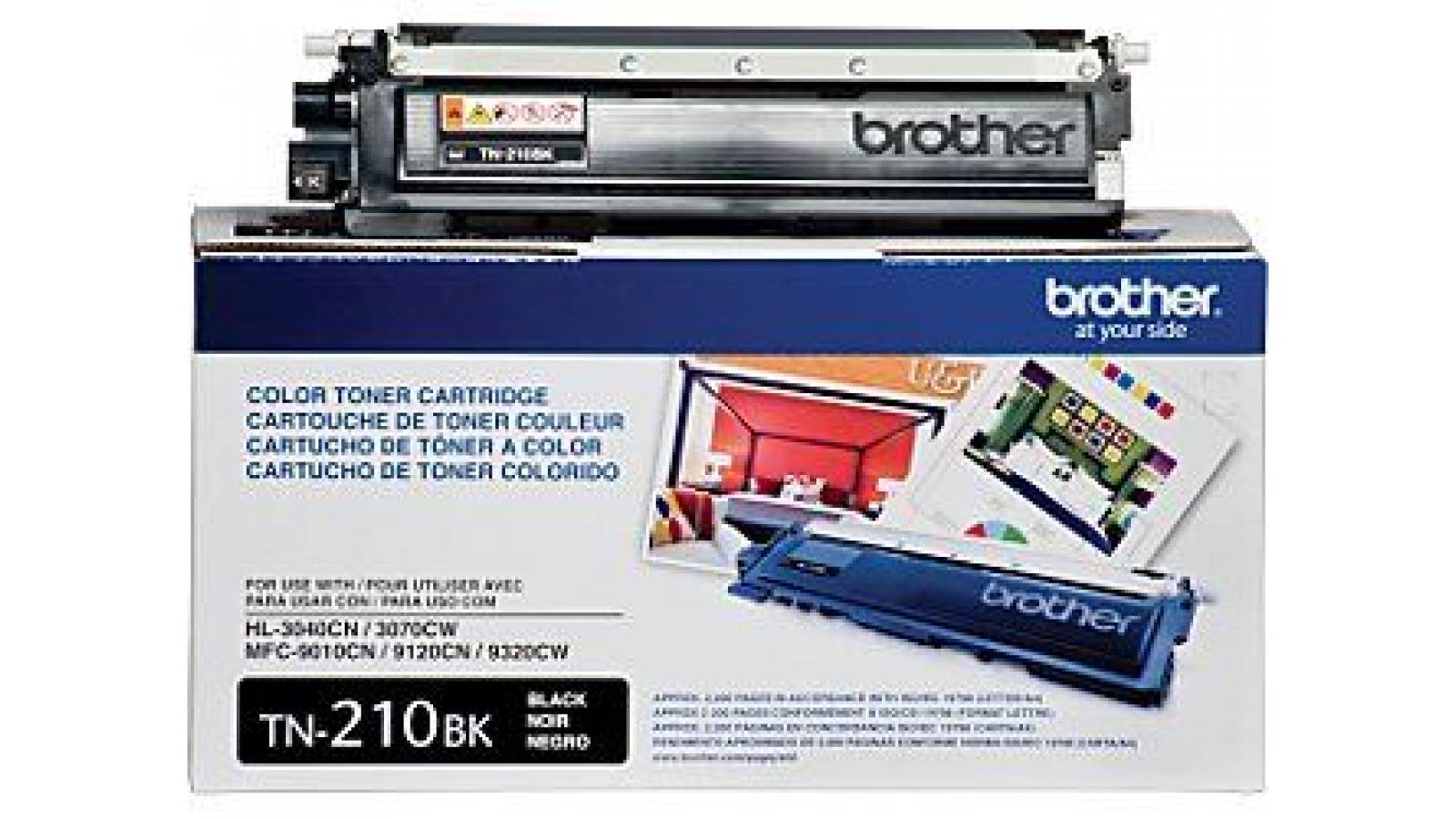 Toner Brother TN-210BK