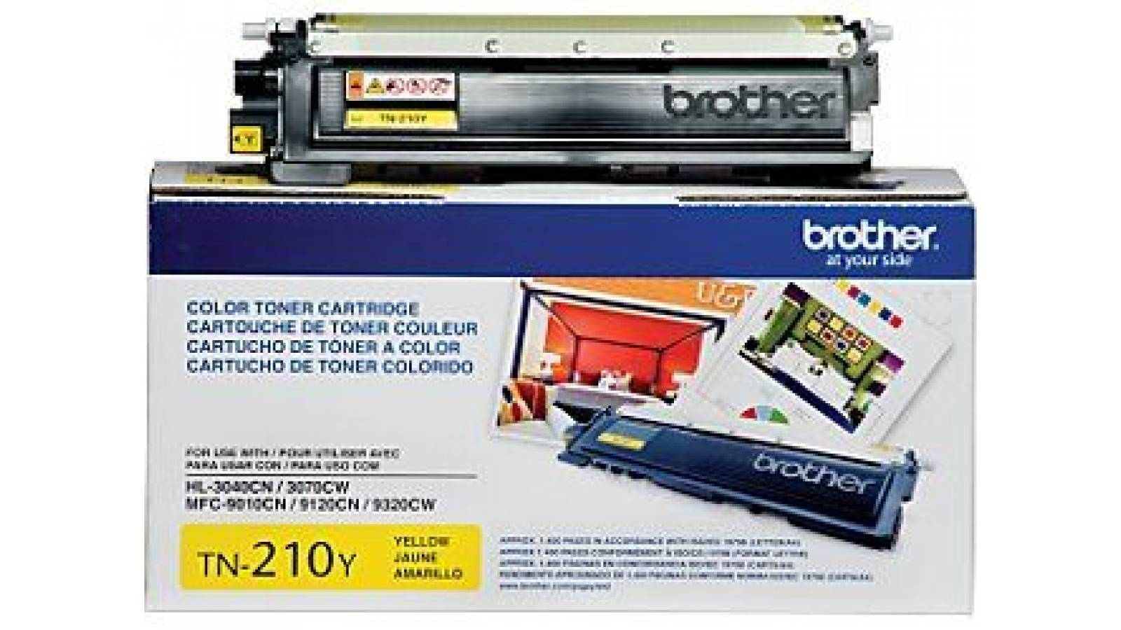 Toner Brother TN-210Y