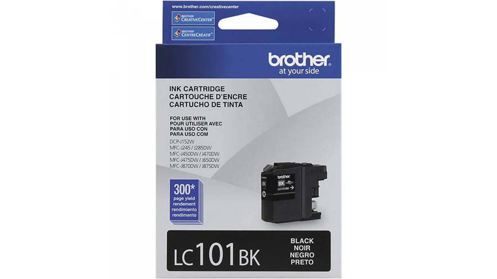 Cartucho de tinta Brother LC-101BK