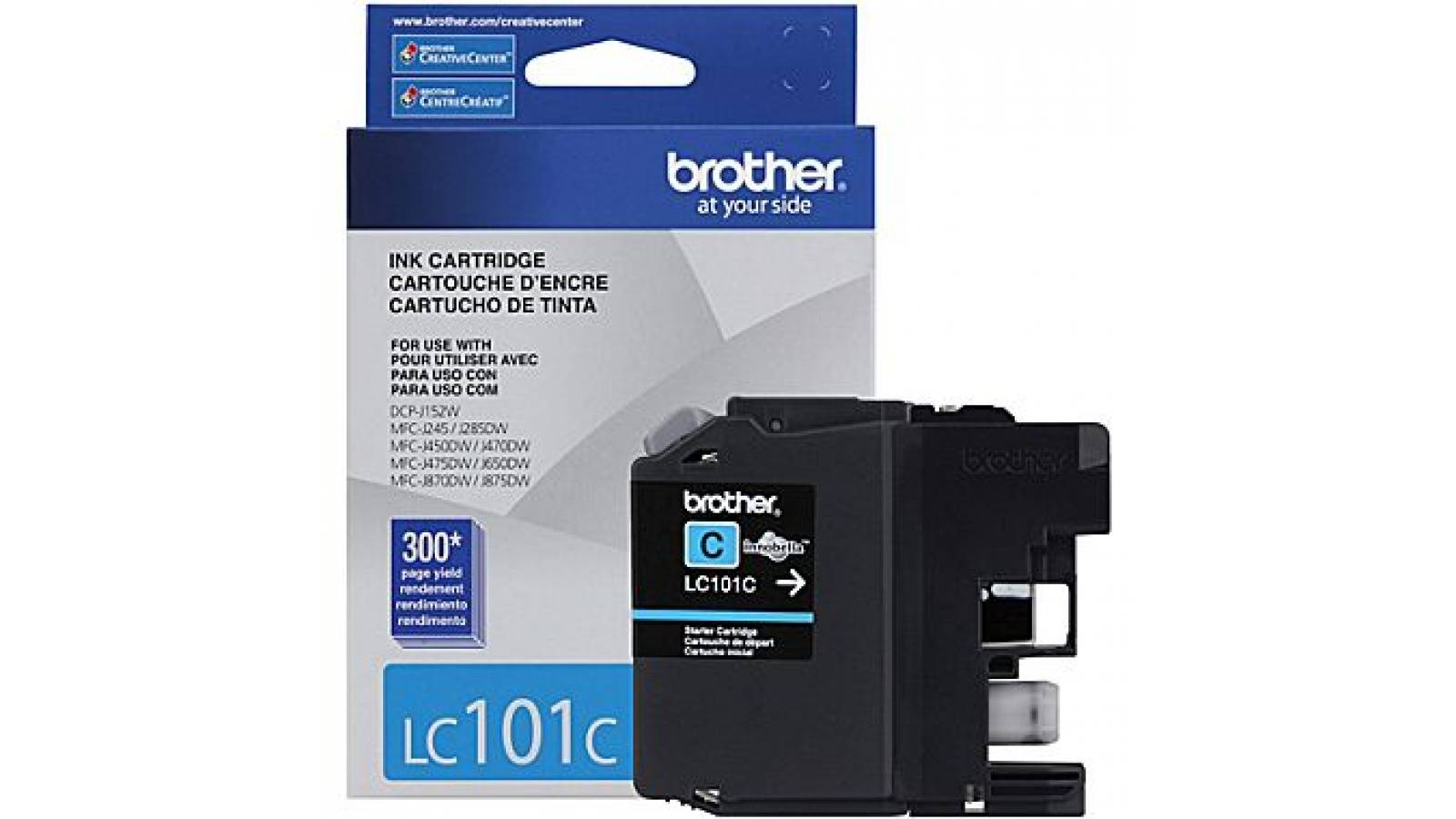Cartucho de tinta Brother LC-101 Cyan