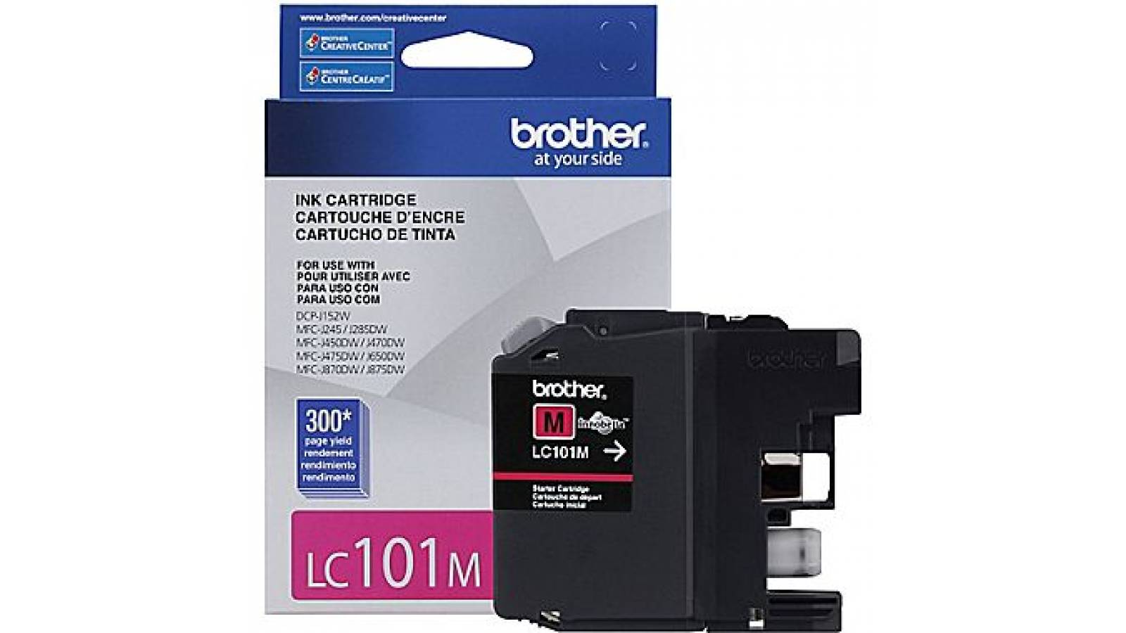 Cartucho de tinta Brother LC-101 Magenta