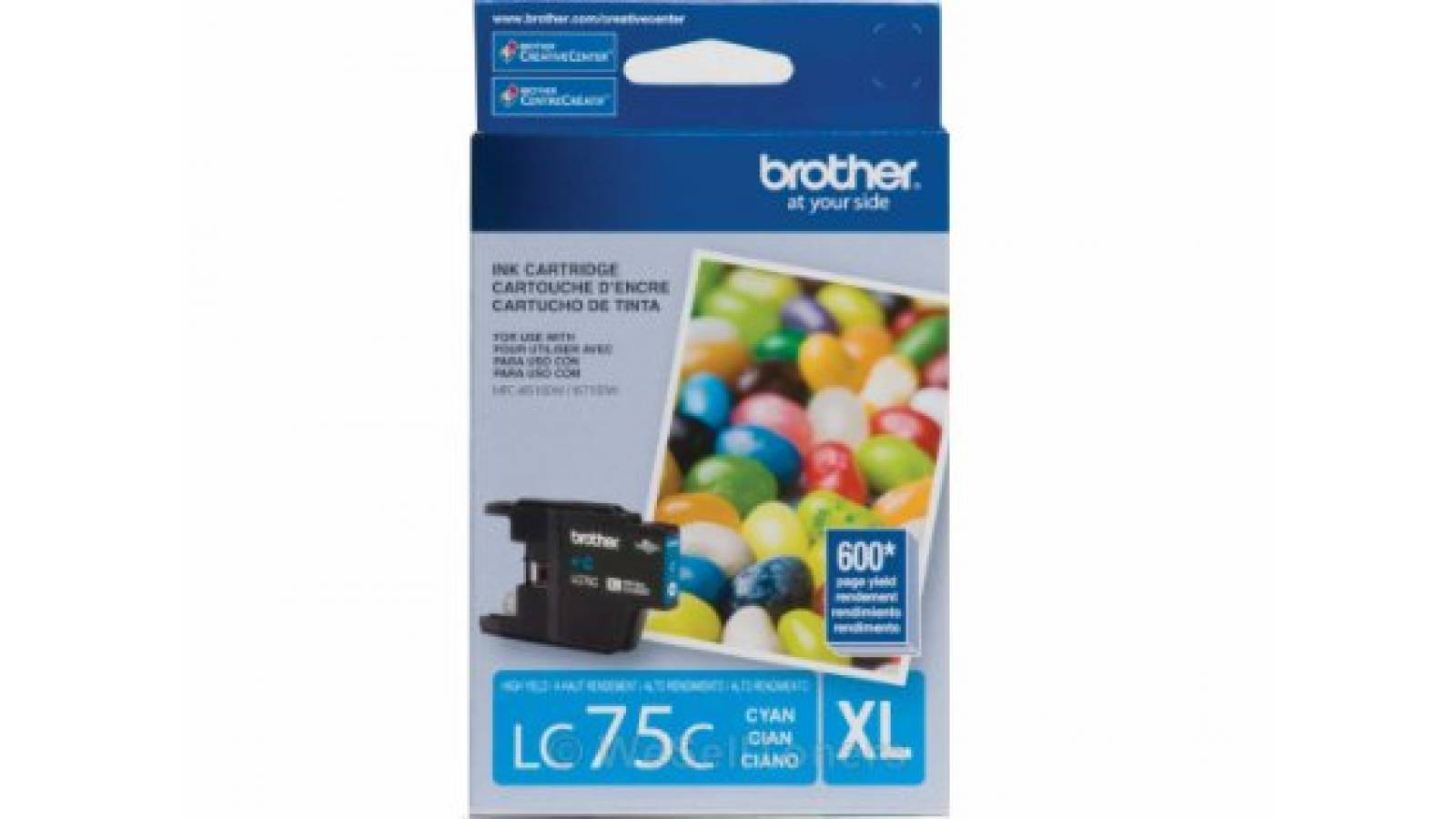 Cartucho de tinta Brother LC-75C