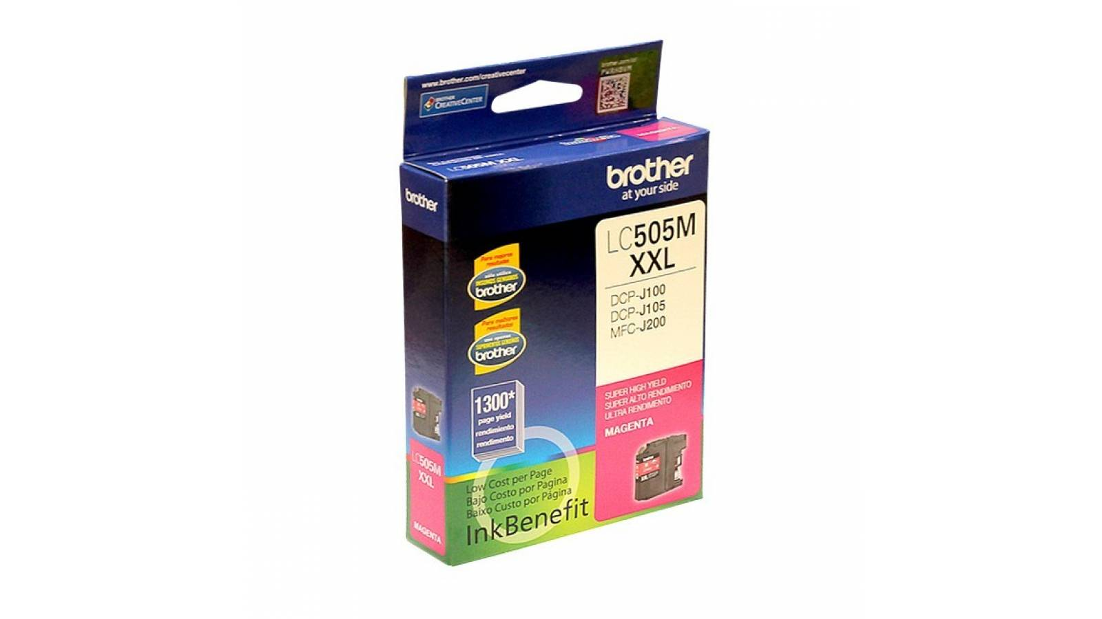 Cartucho de tinta Brother LC-505M