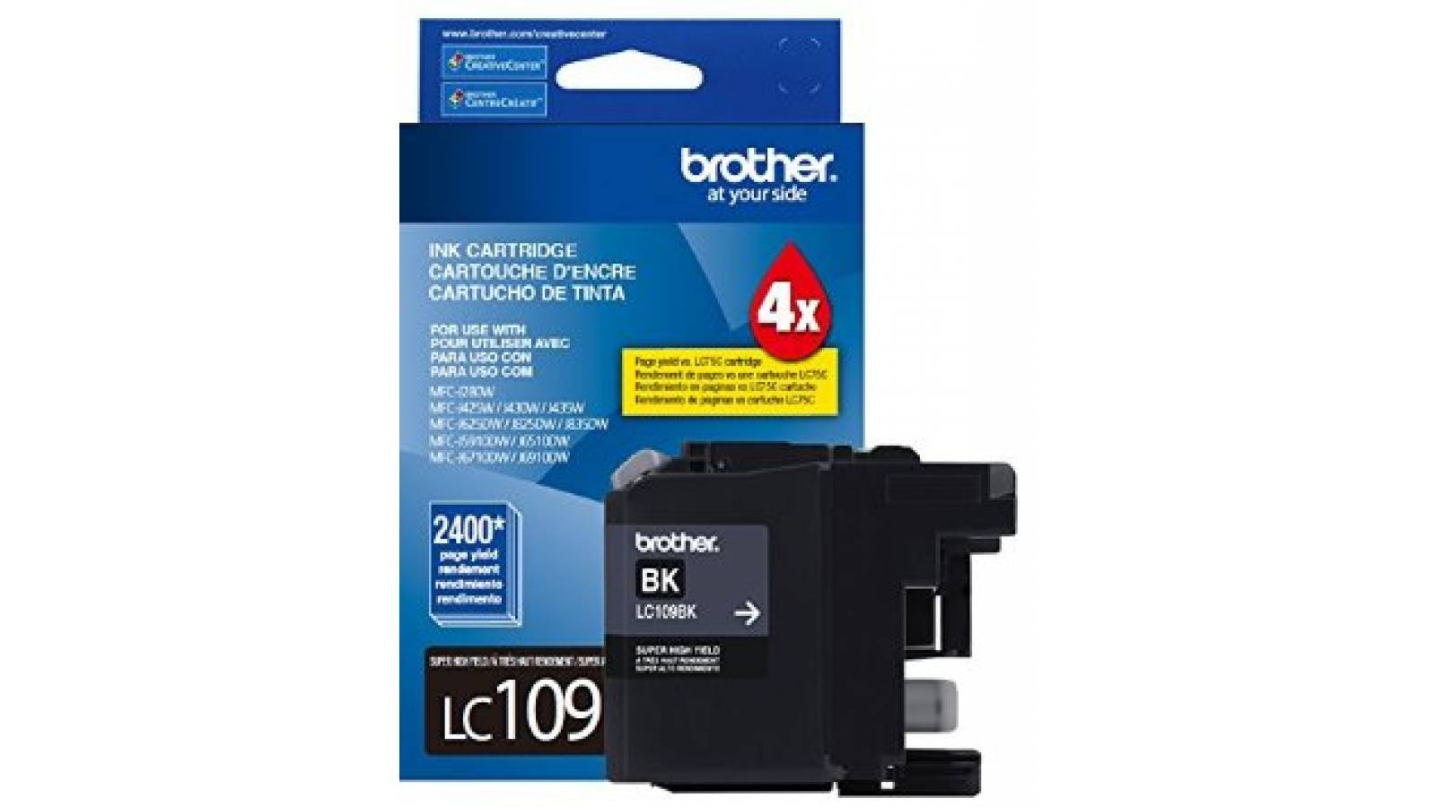 Cartucho de tinta Brother LC-109BK