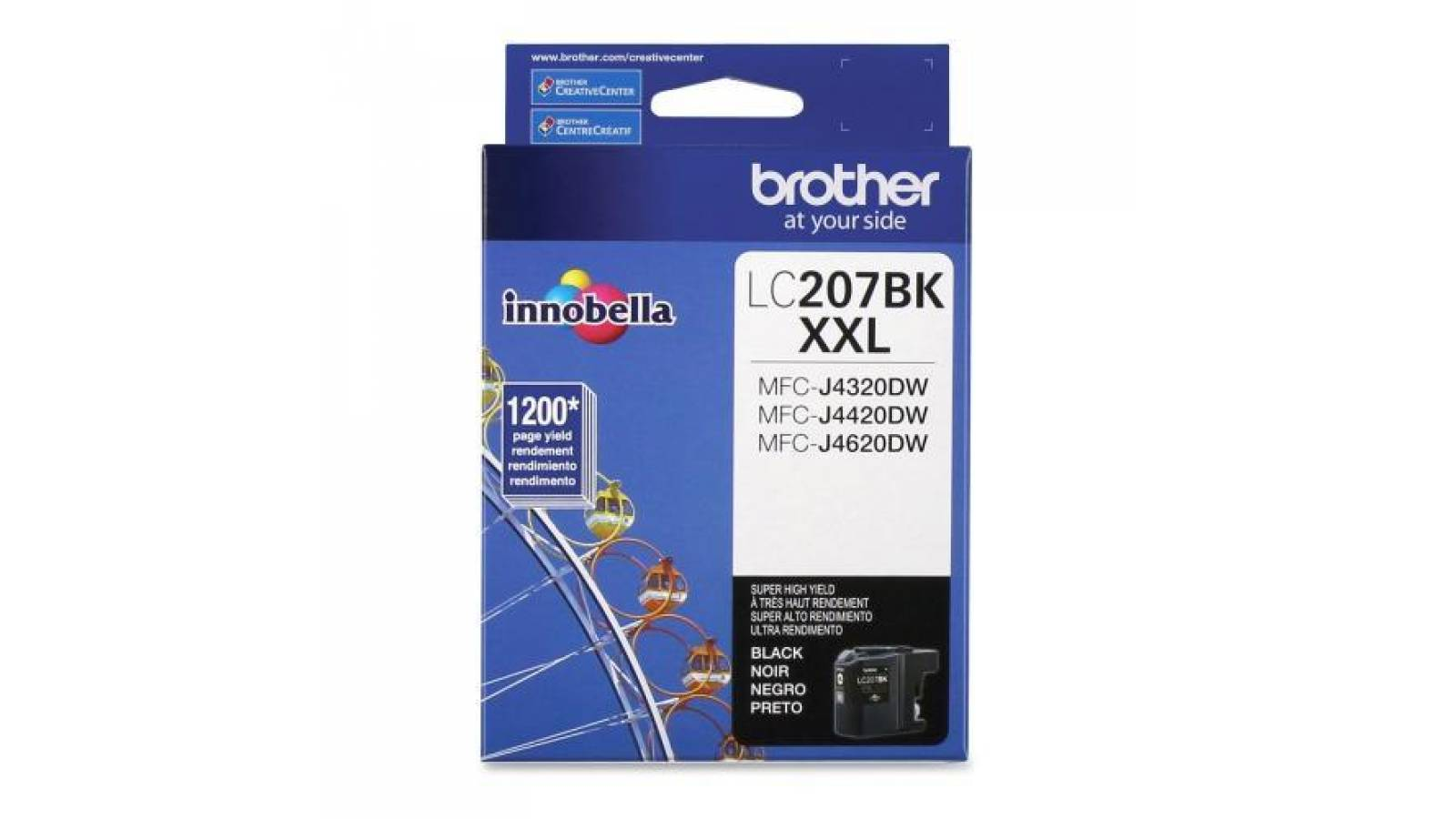 Cartucho de tinta Brother LC-207BK