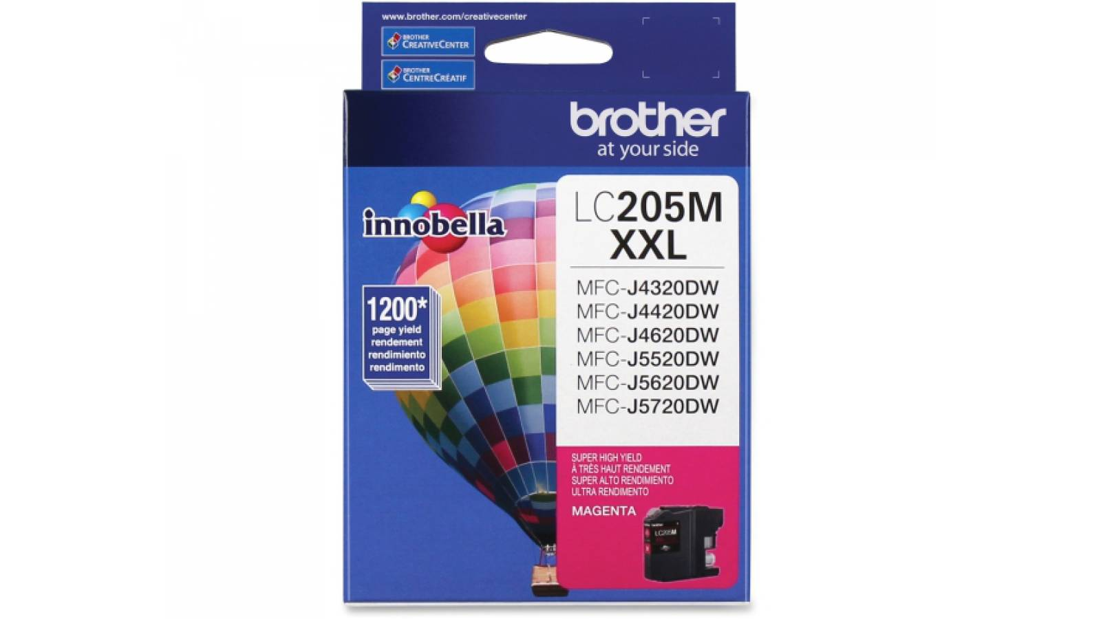 Cartucho de tinta Brother LC-205M