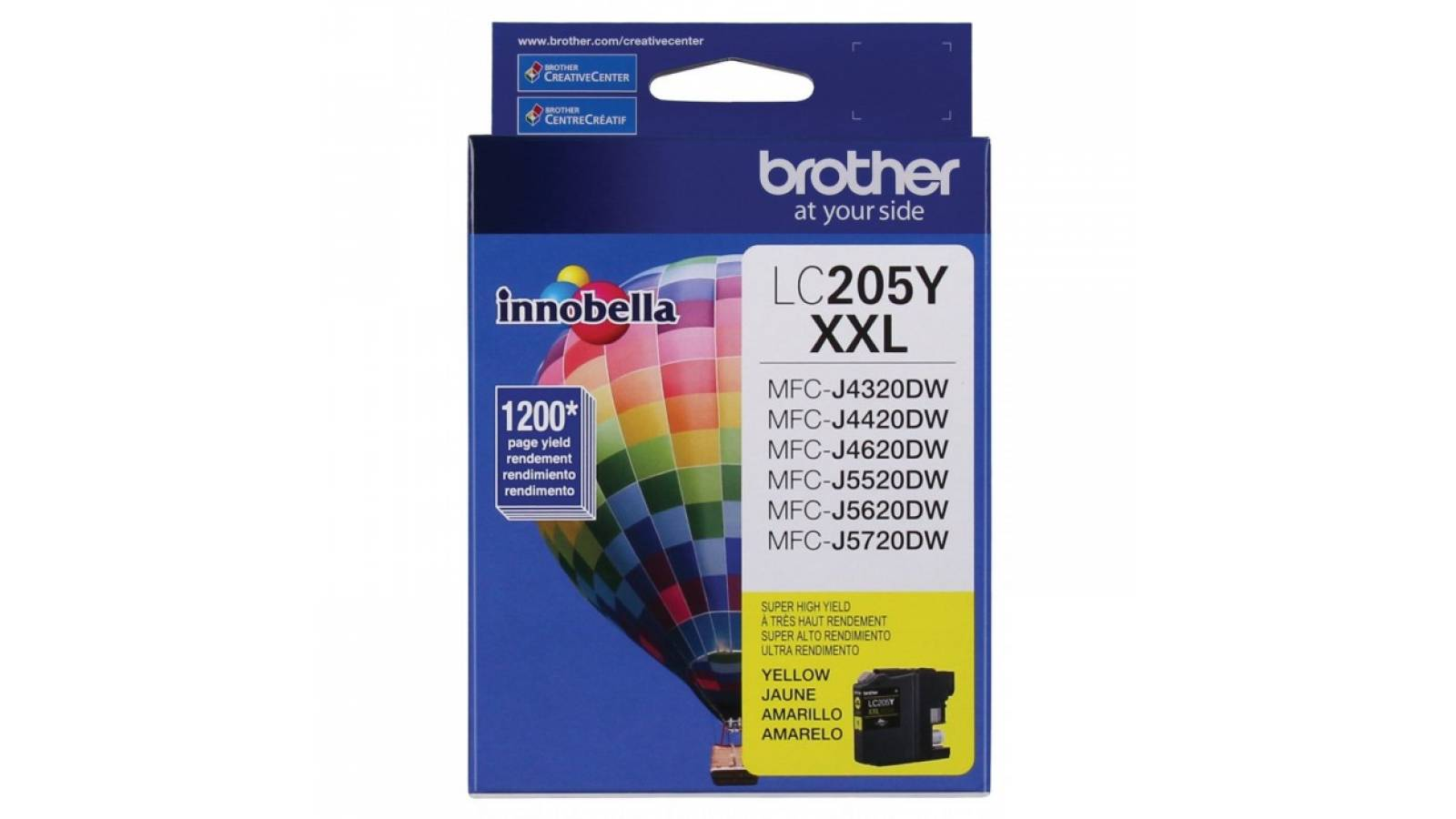 Cartucho de tinta Brother LC-205Y