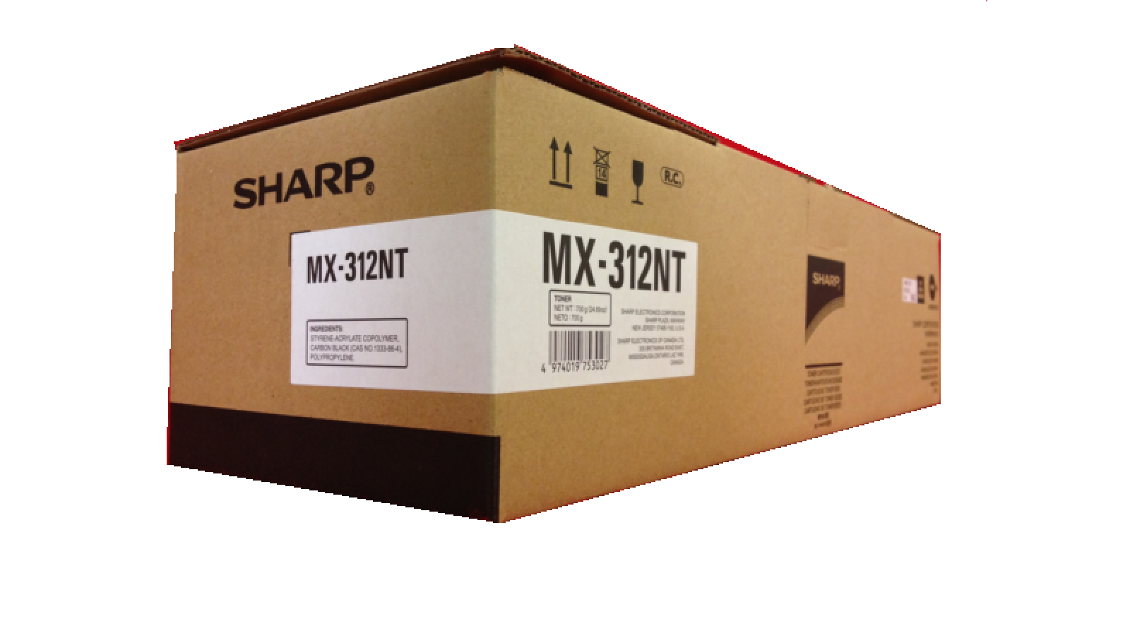 Toner SHARP MX-312NT