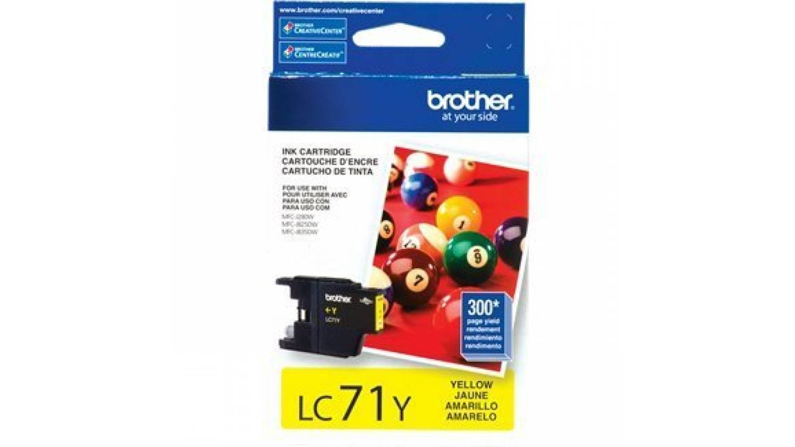 Cartucho de tinta Brother LC-71Y