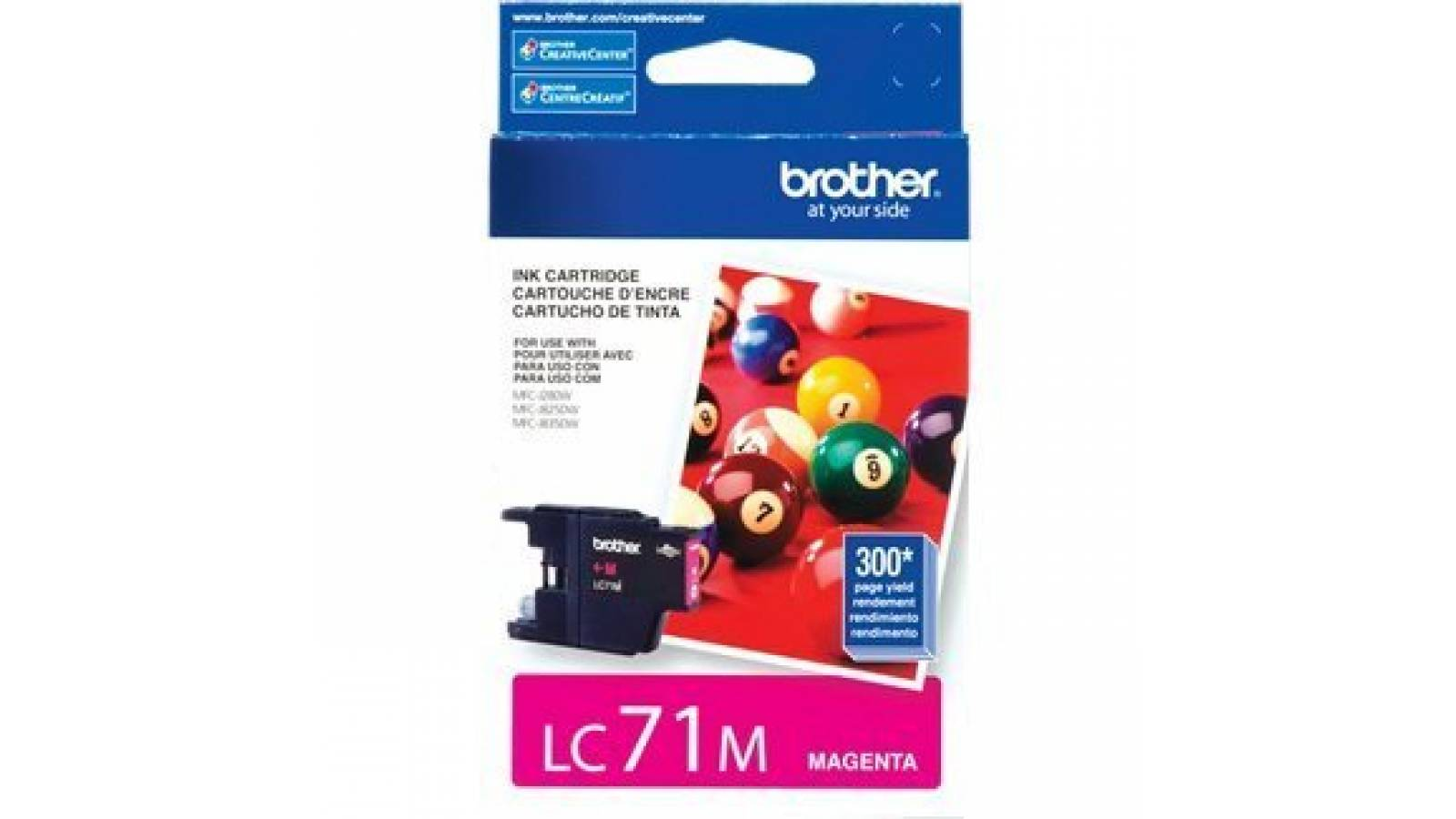 Cartucho de tinta Brother LC-71M