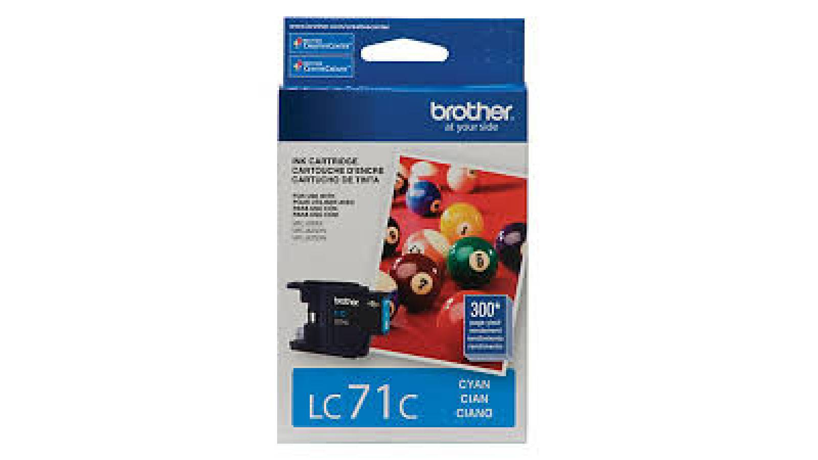 Cartucho de tinta Brother LC-71C