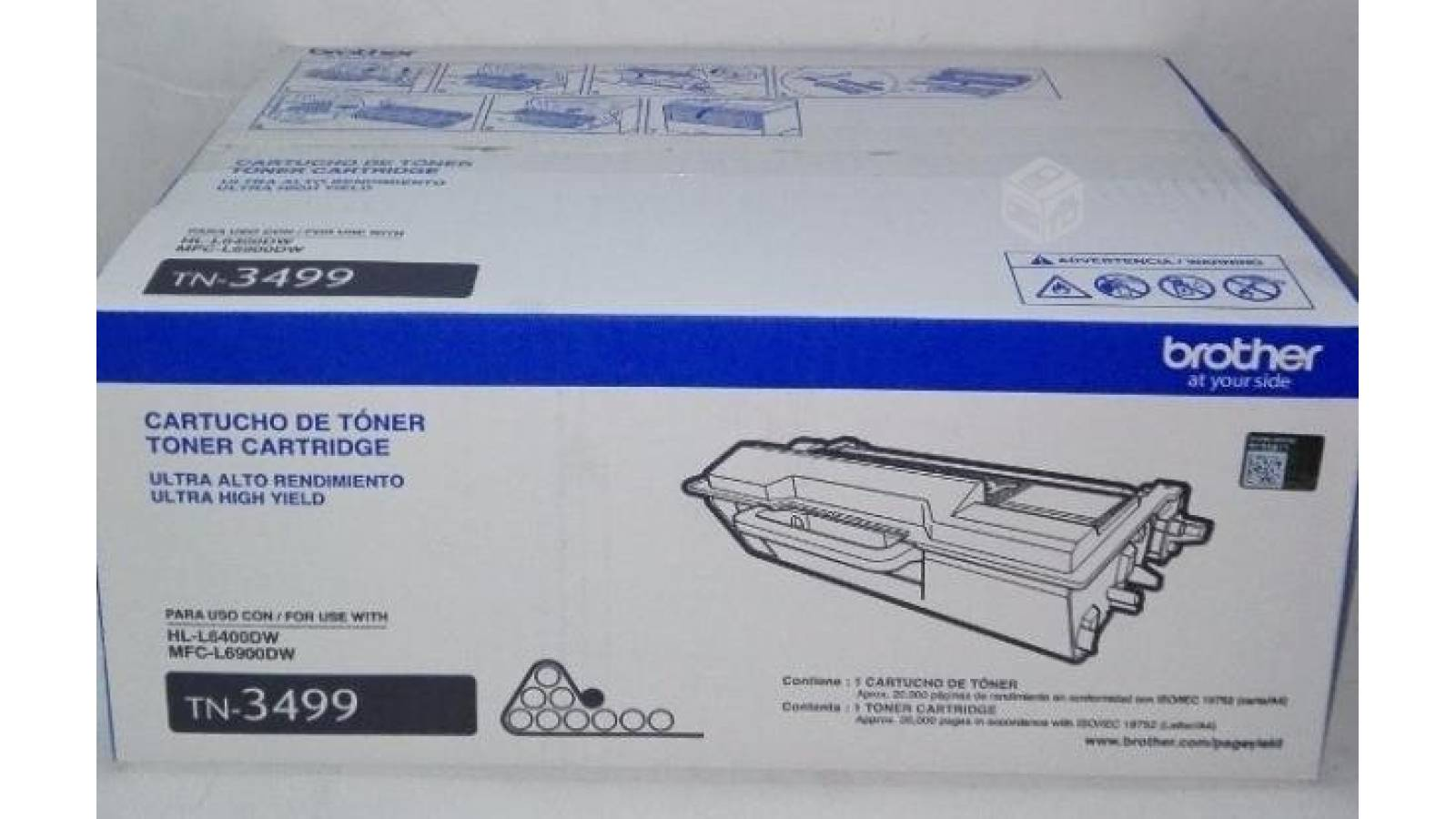 Toner Brother Original TN-3499