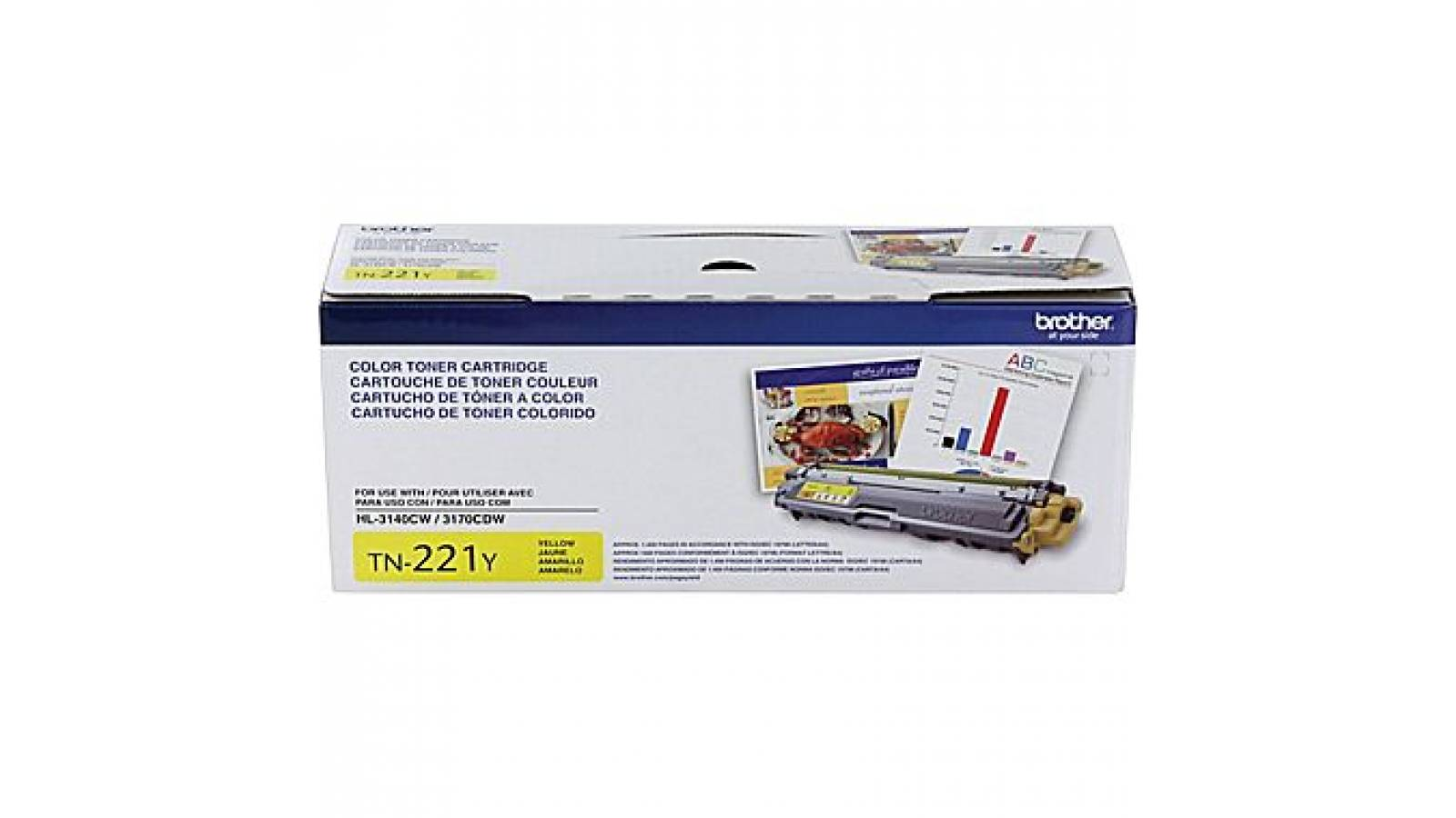 Toner Brother TN-221 Yellow
