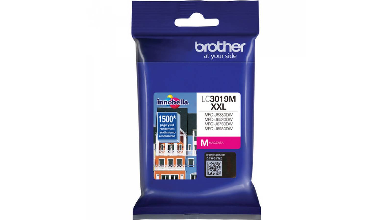 Tinta Brother Original LC-3019 Magenta
