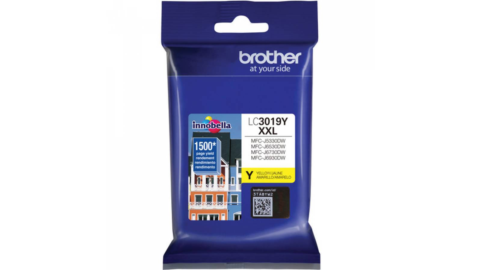 Tinta Brother Original LC-3019 Yellow