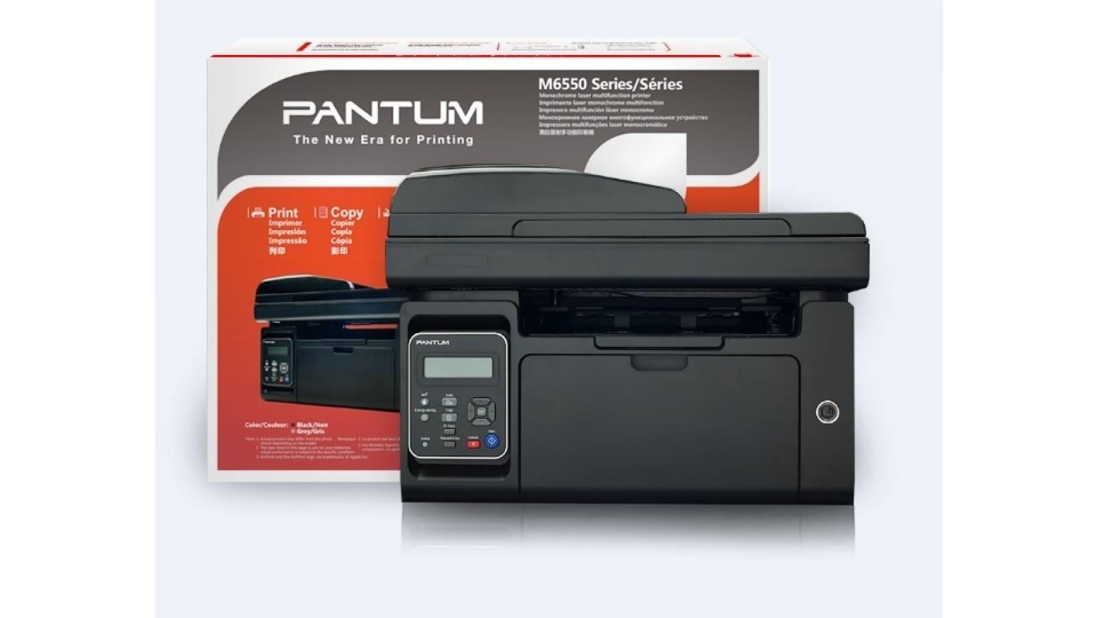 Multifuncional láser monocromática Pantum M6550NW