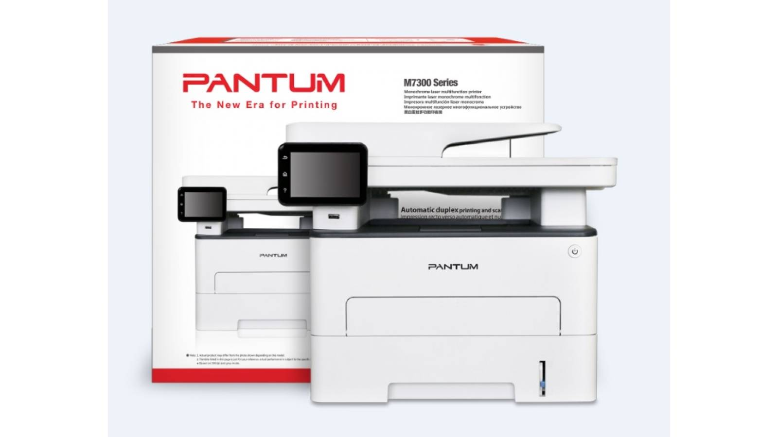 Multifuncional láser monocromática Pantum M7300DW