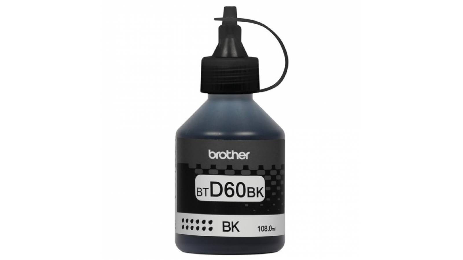 Botella de tinta Brother BT-D60BK para sistema continuo