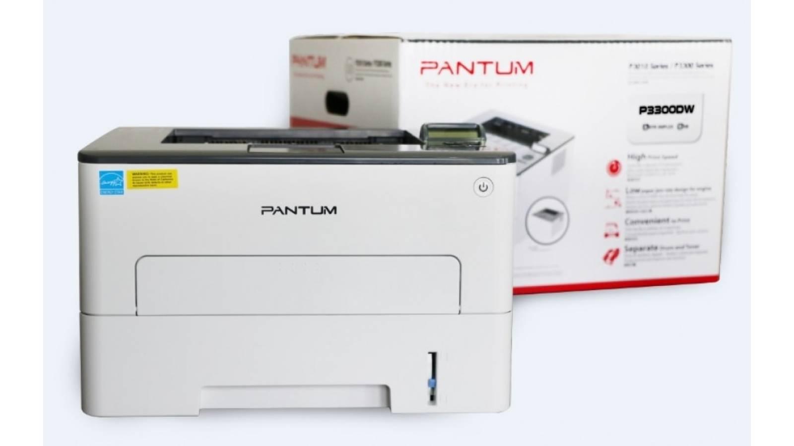 Impresora láser monocromática Pantum P3300DW