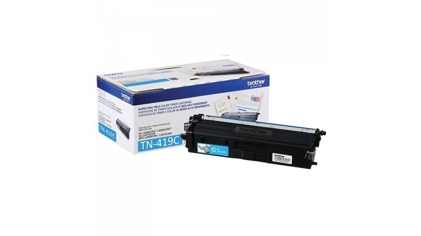 Toner Brother TN-419C alto rendimiento