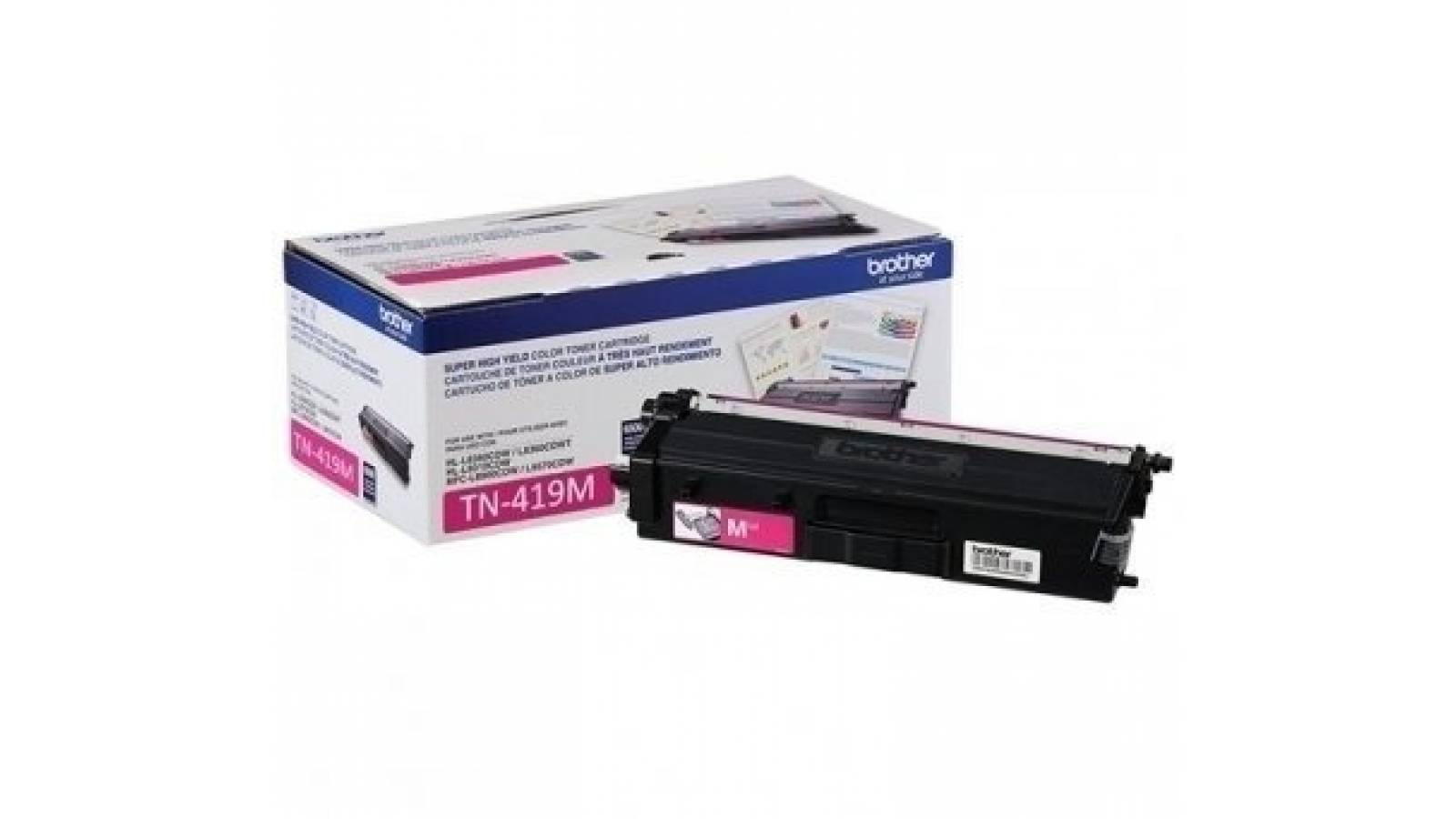 Toner Brother TN-419M alto rendimiento