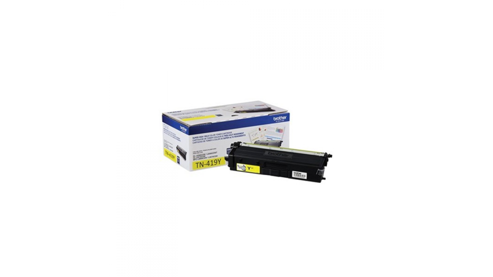 Toner Brother TN-419Y alto rendimiento