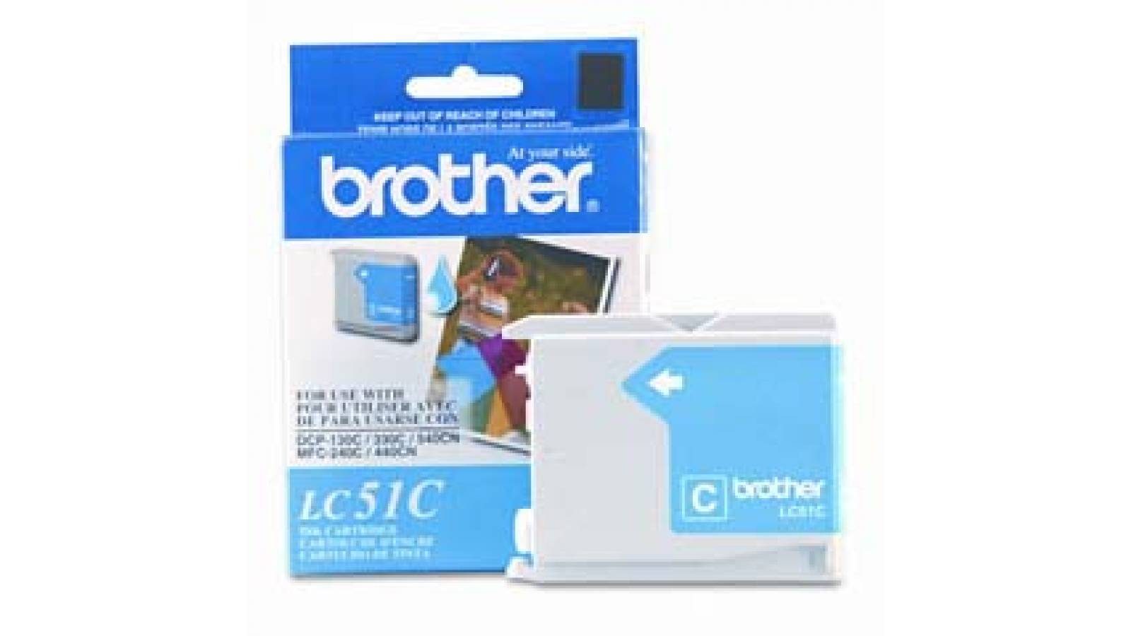 Cartucho de tinta Brother LC-51C