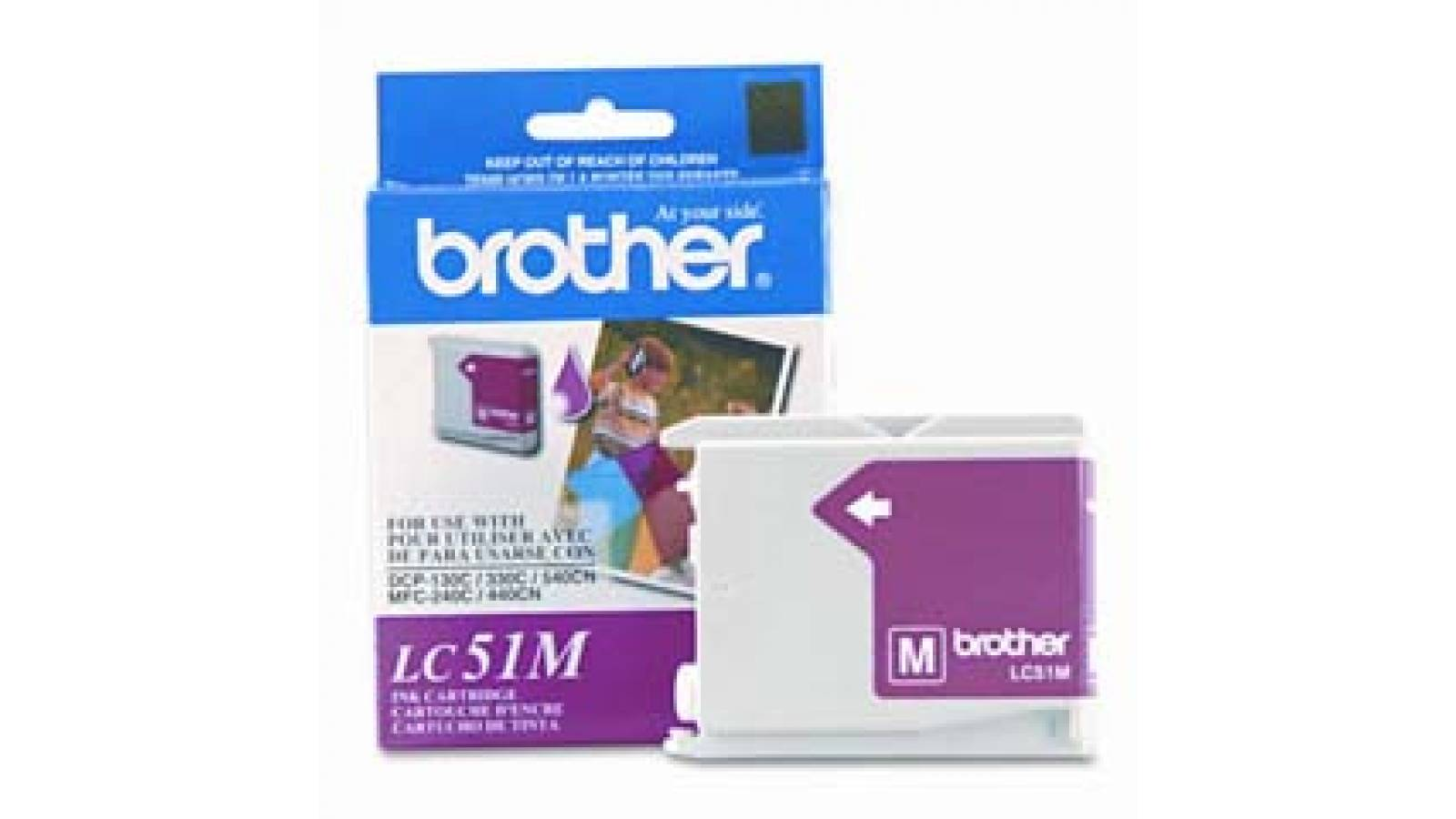 Cartucho de tinta Brother LC-51M