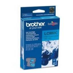 Cartucho de tinta Brother LC-980C
