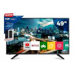 "Smart Tv Led 49"" Ultra Hd 4k Top Digital 49C1U"