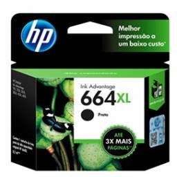 Cartucho de tinta HP Original F6V31AL (664) XL Negro