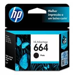 Cartucho de tinta HP Original F6V29 AL (664) Negro