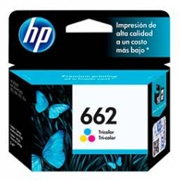 Cartucho de tinta HP Original CZ104AL (662) Tricolor