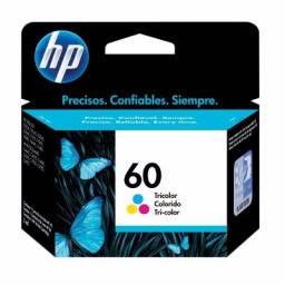 Cartucho de tinta HP Original CC643WL (60) Tricolor