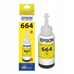Botella de tinta Original Epson T664420 Amarilla