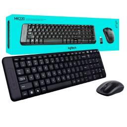 Combo mouse y teclado Logitech MK220