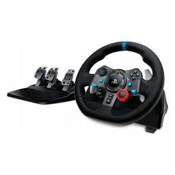 Volante Logitech G29 c/ pedalera Linea G PC PS3 PS4 PS5