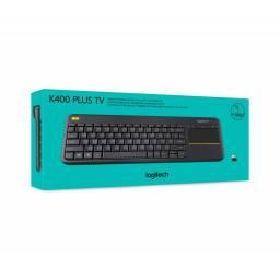 Teclado inalámbrico con touchpad Logitech K400 TV en Español