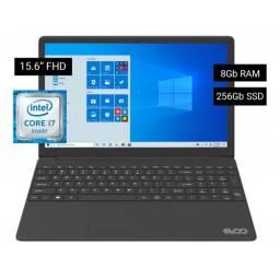 """Notebook Evoo 15,6"""" FHD Intel Core i7 8GB 256GB SSD Windows 10"""