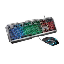 Combo Gaming Trust Gaming GXT845 Tural - Mouse y Teclado