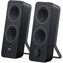 Parlante Logitech Z207 cableado e inalámbrico Bluetooth