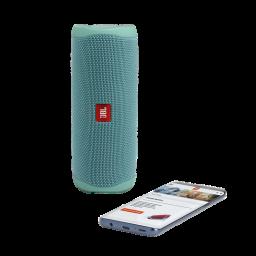 Parlante JBL Flip 5 teal con Bluetooth