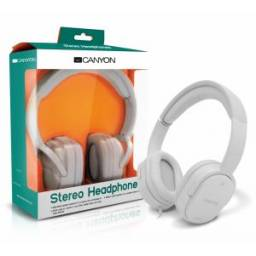 Auriculares Canyon CNR-HP03NW WHITE